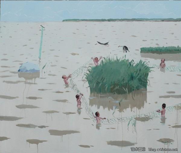 唐志冈:《中国童话》(chinese fairytale),油画,180x150cm,2007