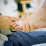 临摹耶稣洗脚