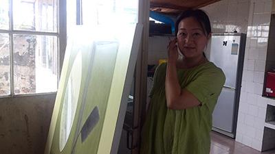 苏亚碧在大理的工作室