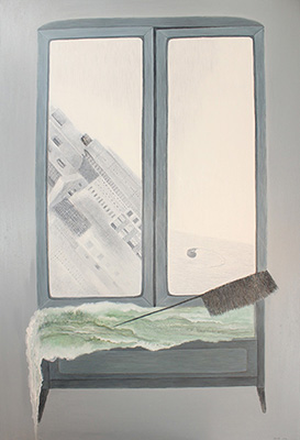 Cabinet, Oil on canvas, 115x150cm,2012