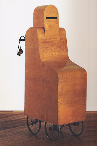 """赫尔马•弗雷德里克森装置作品""""交流"""" 1979年"""