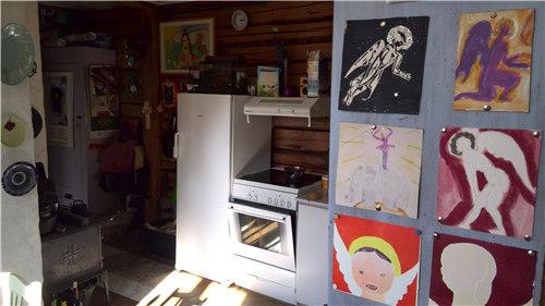 赫尔玛&安娜夫妇的家里布满了艺术品