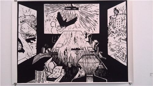 挪威青年艺术家秋季展的作品