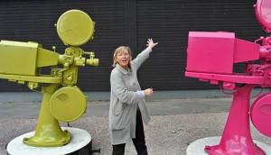 安娜在玛丽安娜隆德创建了儿童电影博物馆(安娜供图)