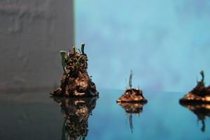 瑞典艺术家奥斯卡·弗贝肯(Oscar Furbacken)的微型青铜雕塑 2013年 TCG诺地卡画廊