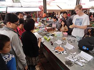 昆明菜市场艺术项目,2012