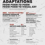 Multiple Adaptations: from Poem to Poem, from Poem to Visual Art