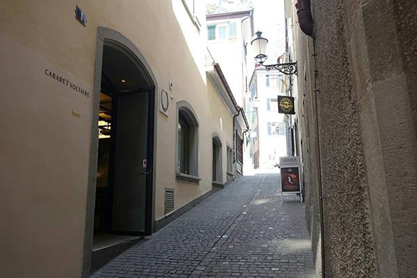 Cabaret Voltaire 伏尔泰小酒馆外景