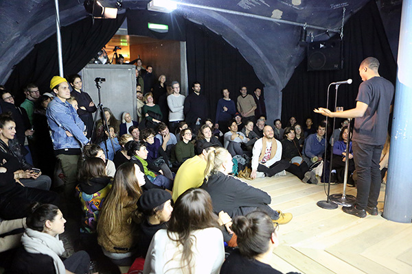 Word Up!«twenty seven poems for getting high and forgetting down too» premiere Performance by James Massiah, 2017-12-12
