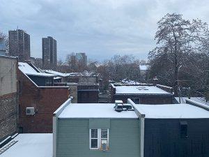 武谷大介在多伦多的后窗视野 Toronto, rear window view